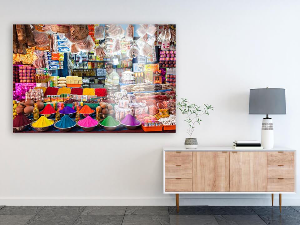 Foto op alu dibond - Glans - Interieur