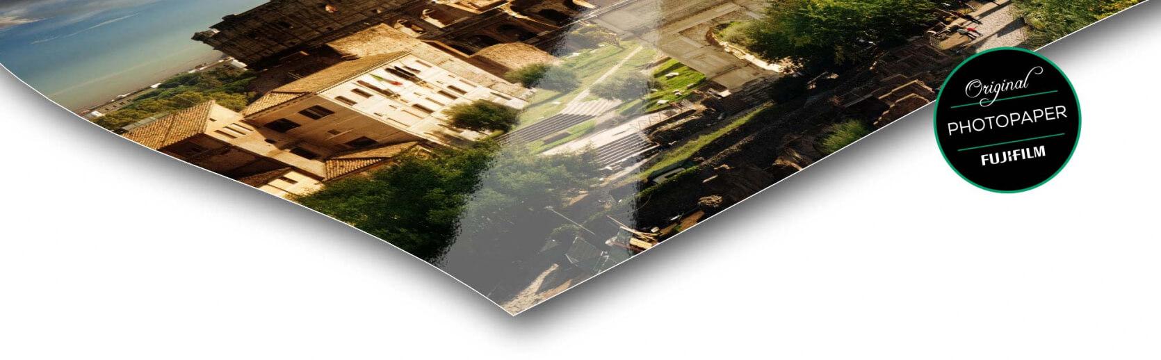 hoek fotopapier foto op forex glans